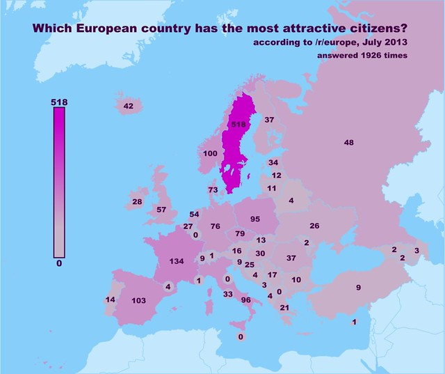 Fun maps of Finland and Europe, by Europeans - Big In Finland