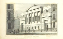 """British Library digitised image from page 317 of """"Metropolitan Improvements ... From original drawings by T. H. Shepherd, etc"""""""
