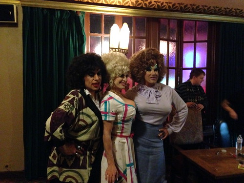 Heklina, Pandora Boxx, and Peaches Christ in 9 to 5