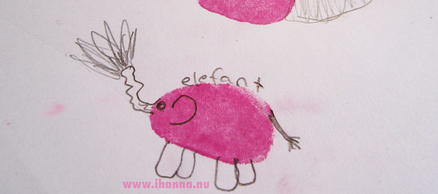 Craft-a-Doodle Elephant by Moa, inspired by the book Craft-a-Doodle