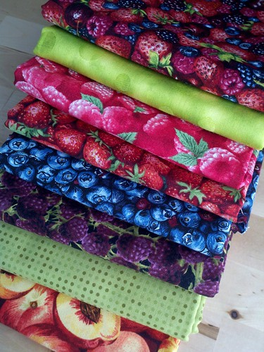 berry/fruit fabrics