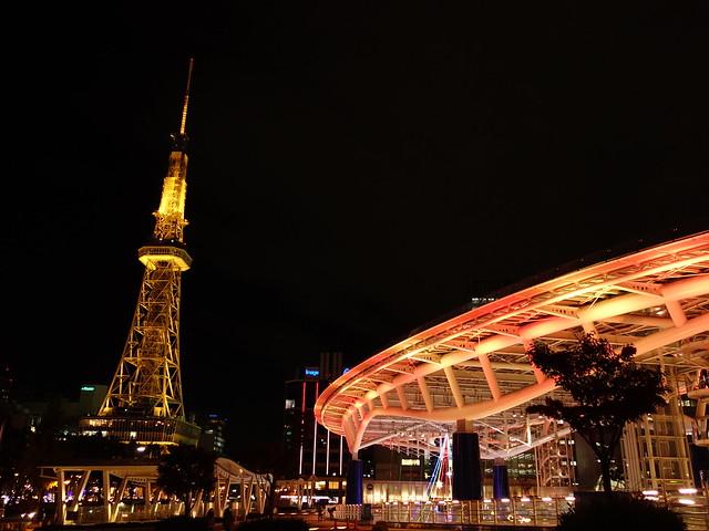 名古屋テレビ塔!(とオアシス21