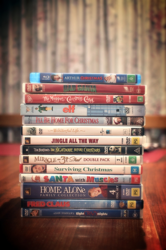Christmas movies all