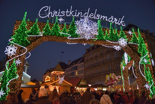 Christmas Market gate by kewl