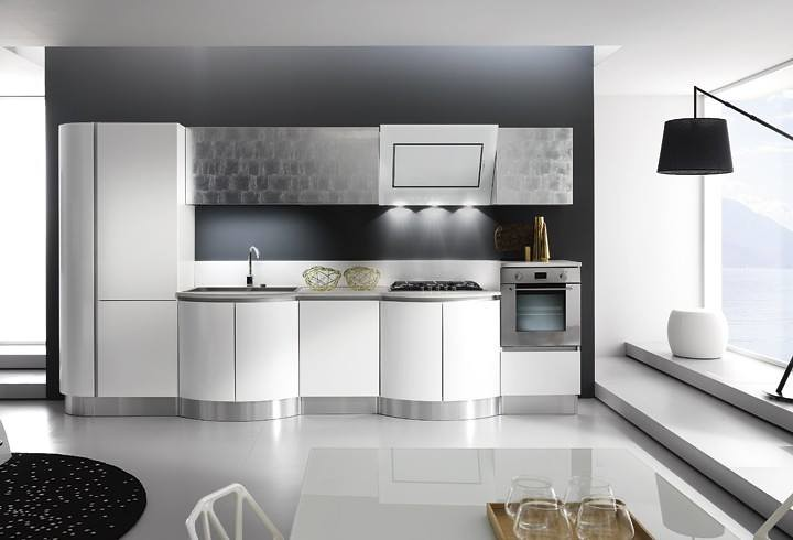 Cucine laccate napoli | Cucina componibile bombata Kreativa | Flickr
