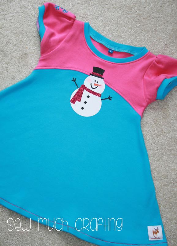 snowman dress 1