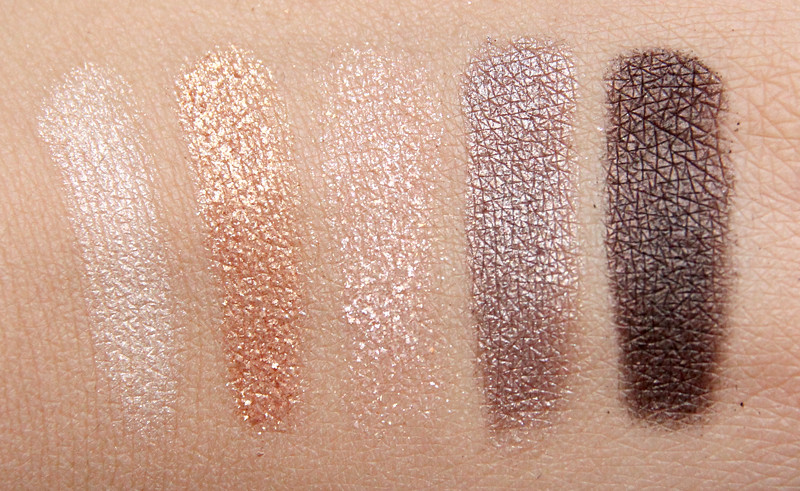 MAC phresh out veluxe pearlfusion shadow palette swatch