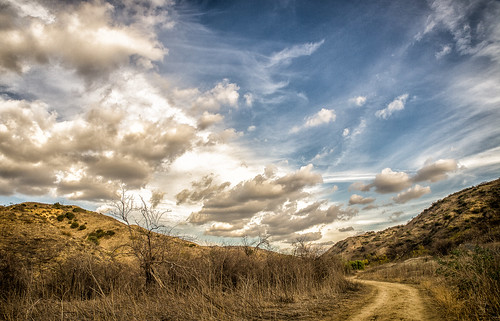 california park clouds day unitedstates state cloudy path canyon hills telegraph brea chino