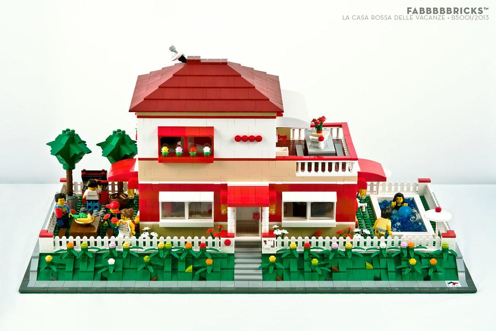La casa rossa delle vacanze x mettiamo su casa contest itlug fabbbbbricks il forum di - La casa delle vacanze ...