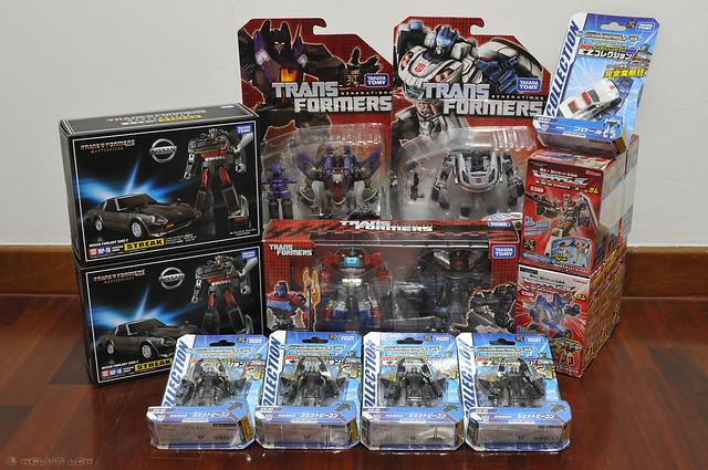 Tokyo Transformers loot - Dec 2013