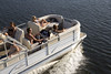 Sunchaser Classic 8522 Lounger Pontoon Boat