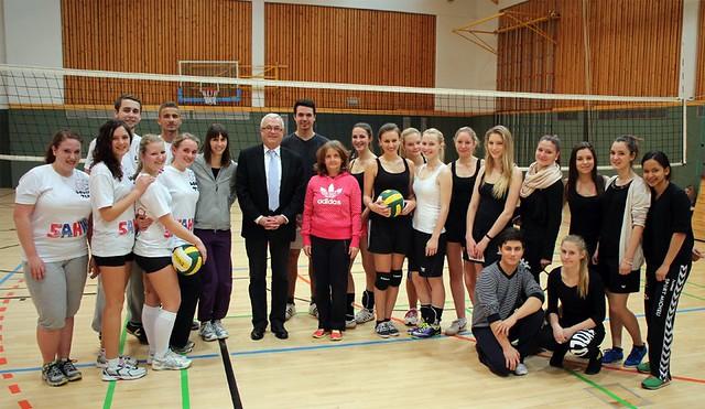 Volleyballturnier_Gruppenfoto