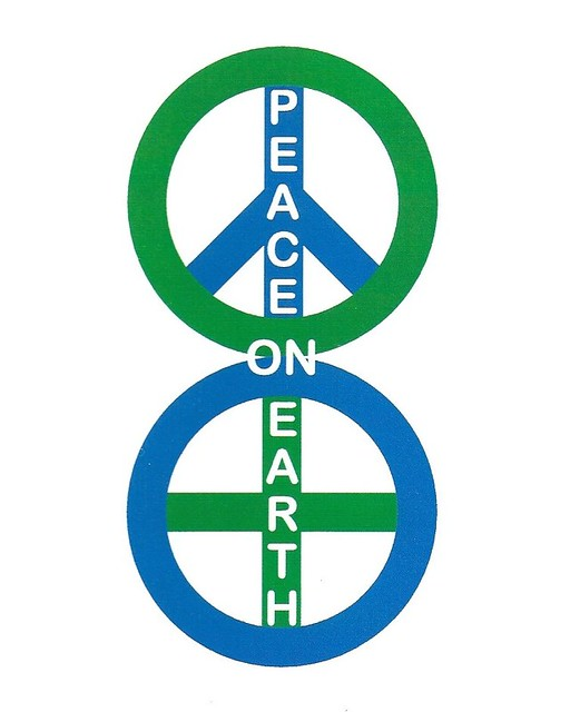 We Only Have Each Other. Wishing Us Peace (lower Symbol Is