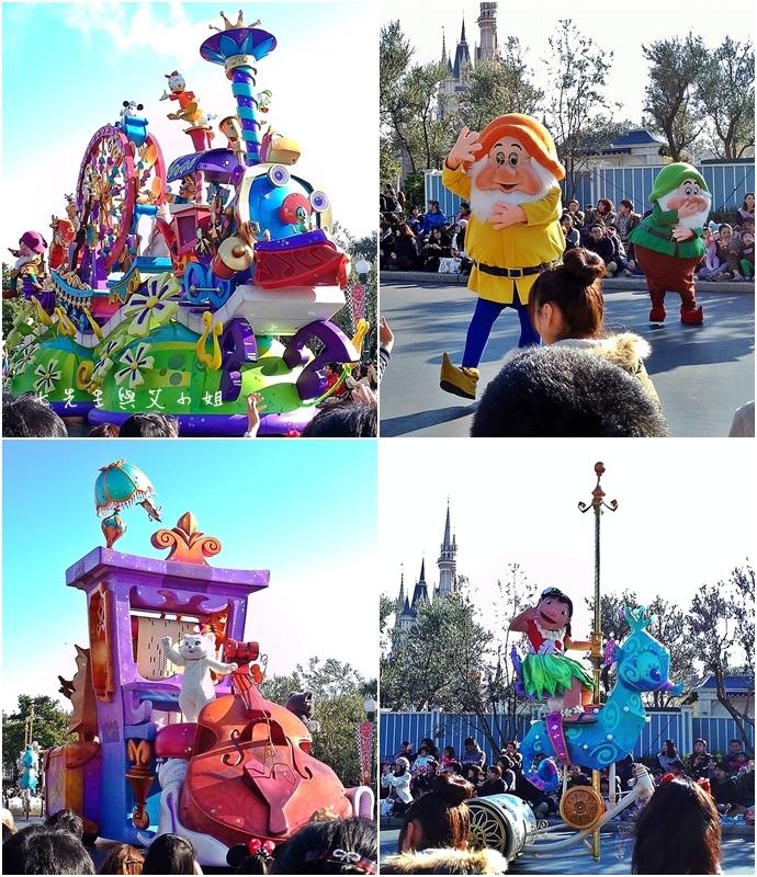 4 迪士尼聖誕村大遊行幸福在這裡夢之光大遊行