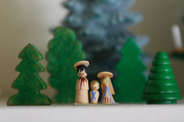 Tiny Nativity