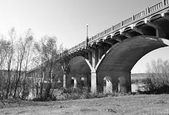 Houston St Viaduct over Trinity River, Dallas, Texas 1312241221BW