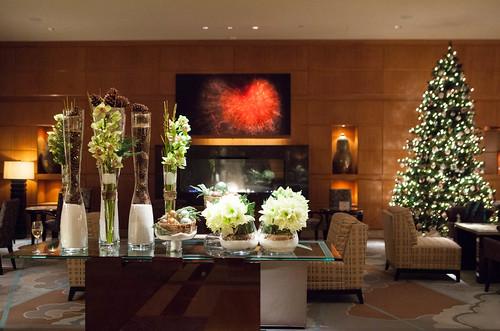 Mandarin Oriental Boston's lobby