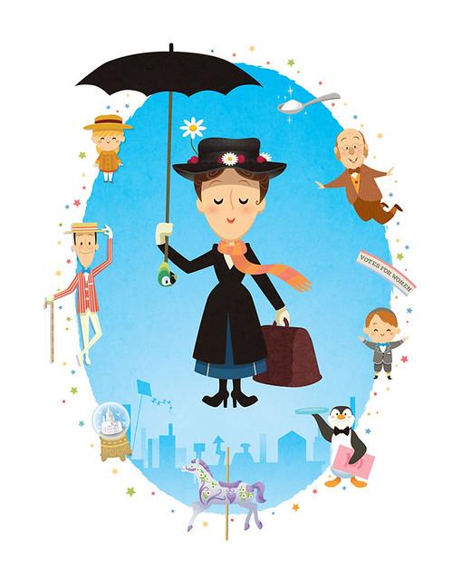 Mary Poppins av Jerrod Maruyama