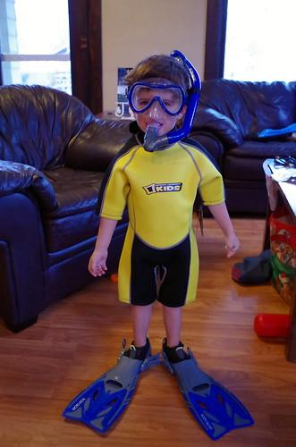 Little Snorkel Boy