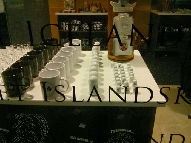 Icelandic Phallological Museum shop