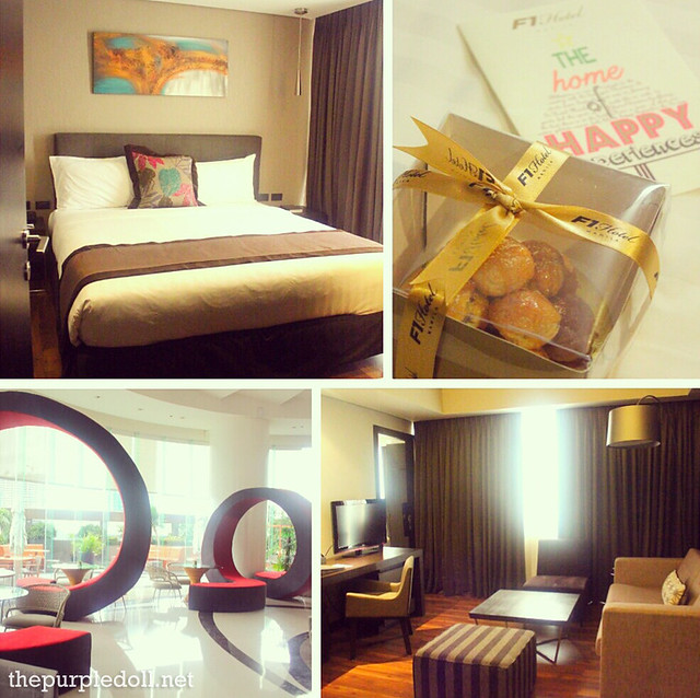 Staycation at F1 Hotel