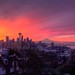 A Colorful Seattle Sunrise by Fresnatic