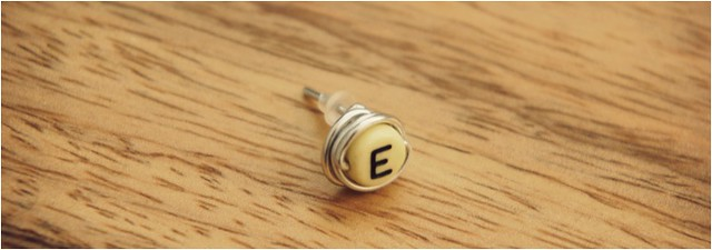 diy monogram earrings 5