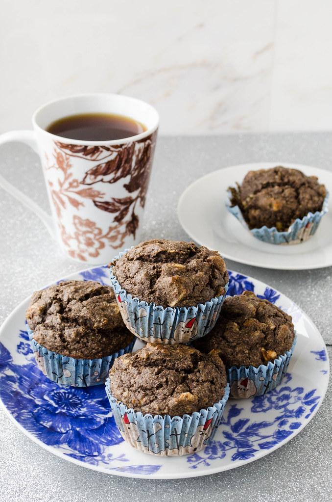Buckwheat Banana Nut Muffins (Gluten Free) | cooking ala mel