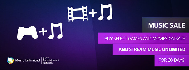PlayStation Music Sale