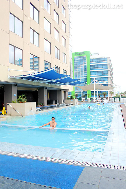 Swimming Pool at Bellevue Hotel Tower Wing