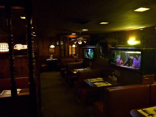 Billingsley's Restaurant Los Angeles CA Fish Tanks