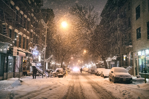 New York City - Snow - Janus - East Village - 9th Street