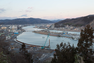 Ishinomaki from Above, with Reconstruction Underway