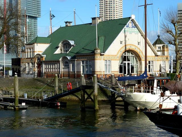 Clubgebouw Roei en zeilvereniging De Maas 1