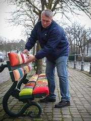 Bruges Bench - brother Steve's creative craftmanship