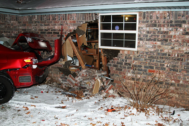 A holey garage