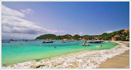 beach plage guadeloupe lessaintes canoneos550d