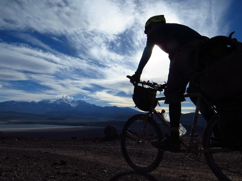 Cycling to Pissis