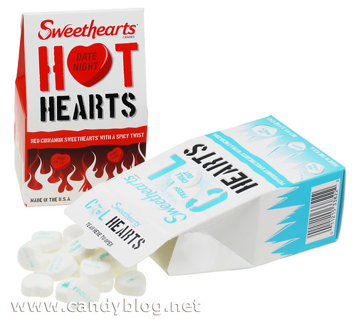 Necco Sweethearts Hot Hearts & Cool Hearts