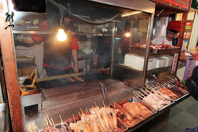 十七街碳烤肉串(總店十一街碳烤