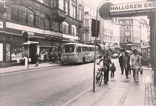 Købmagergade by Klarboderne 1973