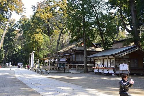 鹿嶋神宮 拝殿 by leicadaisuki