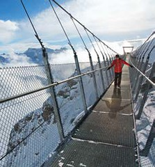 Titlis Cliff Walk – Švýcarsko