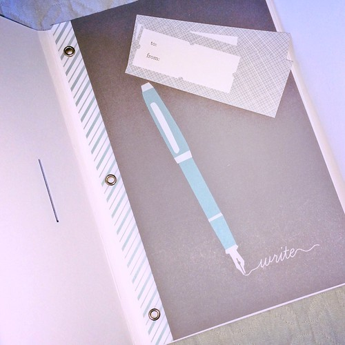 notebook journal from #minted