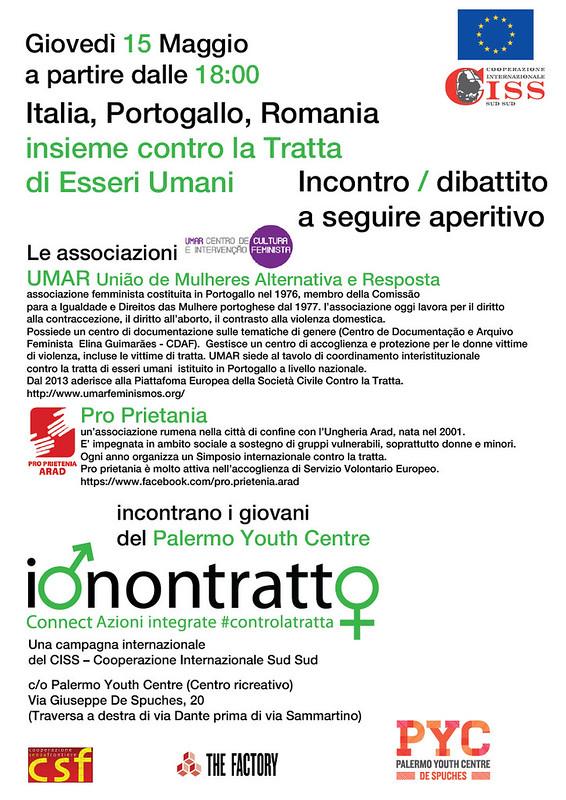 Italia, Portogallo, Romania insieme contro la Tratta di Esseri Umani