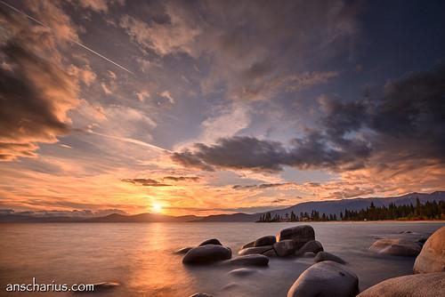 Tahoe Sunset #2 - Nikon D800E & AF-S VR 4/16-35mm