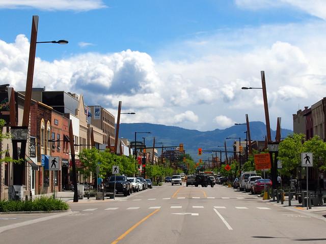 Downtown Kelowna, British Columbia