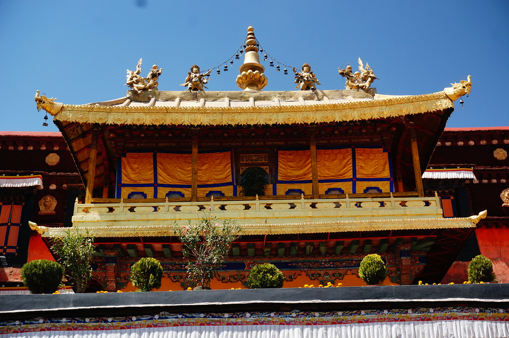 Residence of Dalai Lama at Jokhong Temple
