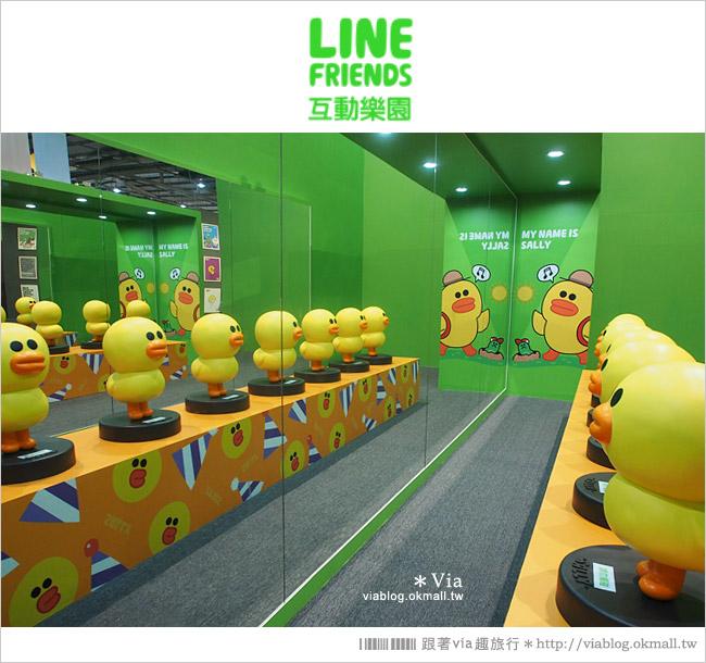 【台中line展2014】LINE台中展開幕囉!趕快來去LINE FRIENDS互動樂園玩耍去!(圖爆多)38