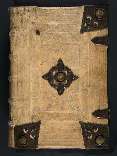 Binding of Biblia (German)